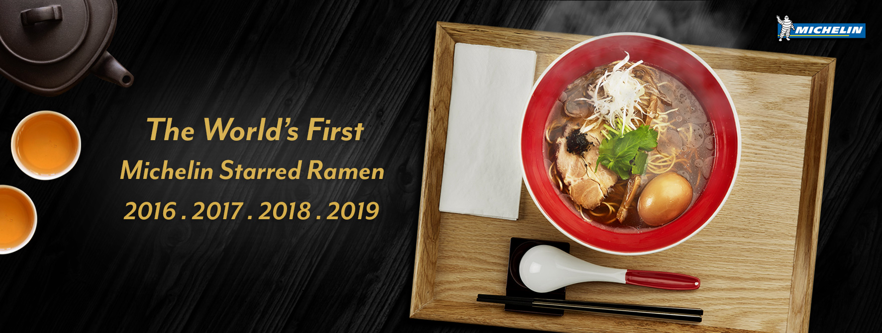 The would's first michelin starred ramen